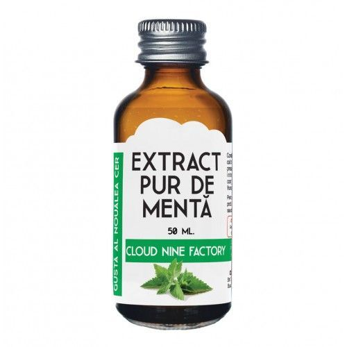 Extract pur de mentă 50 ml.