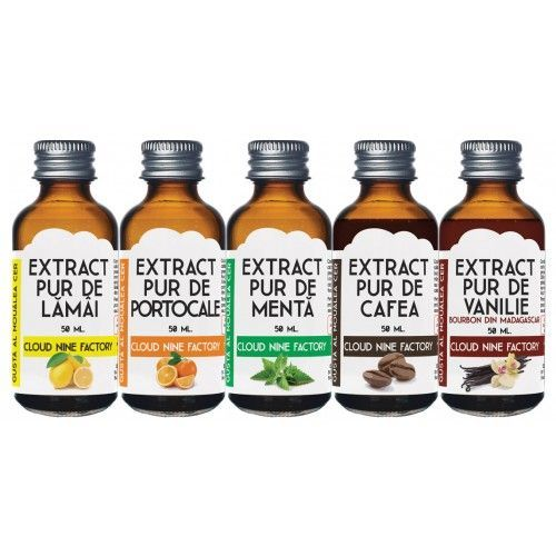 Extracte pure - Set 5 bucati x 50 ml.